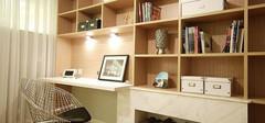 简约的书房装修效果图,享受阅读的美好