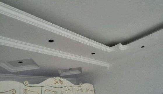 木工吊顶须知的石膏线安装方法!
