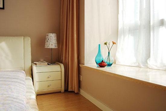 豪华客厅的欧式客厅飘窗设计