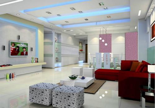 客厅装修的色彩搭配原理与技巧