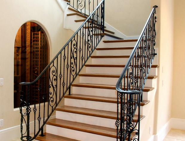 铁艺楼梯案例图