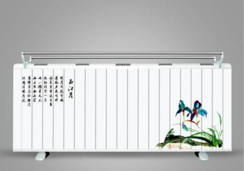 碳晶电暖器效果图