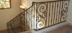 铁艺楼梯扶手有哪些安装步骤?