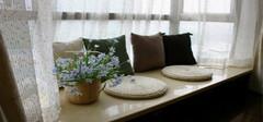 飘窗窗帘的安装方法及其优缺点  飘窗装修效果图