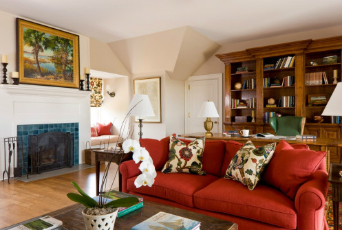 美式装修风格客厅