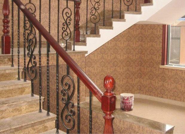 铁艺楼梯的安装步骤
