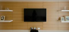 不可缺少的现代简约电视背景墙