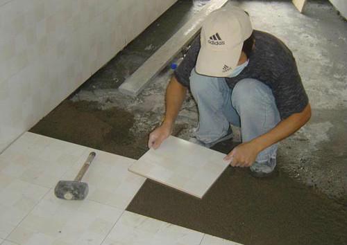 地砖的铺贴方法