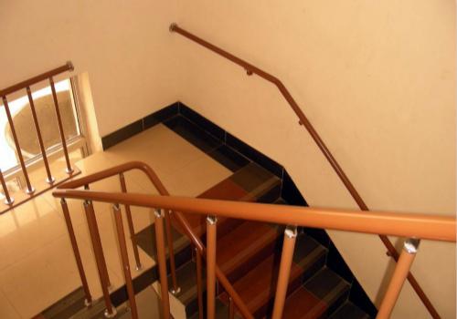 楼梯扶手效果图