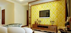 浅谈硅藻泥电视背景墙,享受自然纯朴之风
