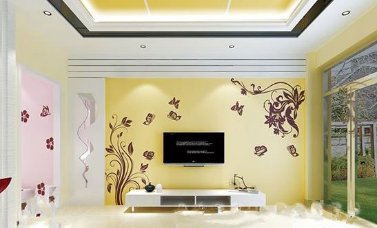 硅藻泥电视背景墙案例欣赏
