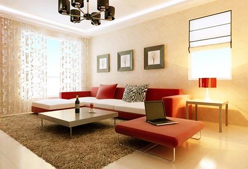 婚房客厅布置之沙发