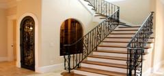 铁艺楼梯扶手该如何保养? 铁艺楼梯扶手的特点