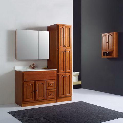 浴室柜安装的高度一定要适宜