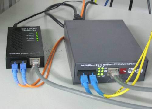 光纤收发器的种类