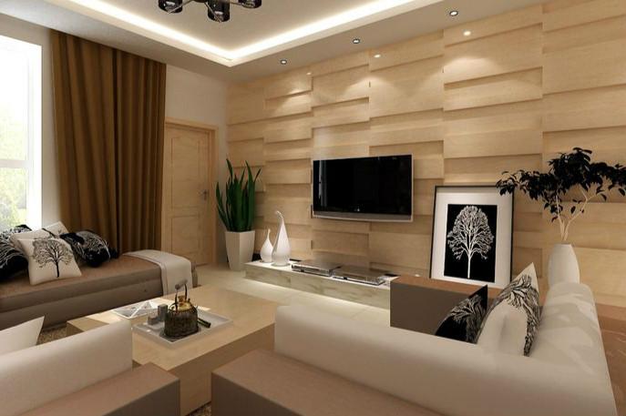 木质材料背景墙