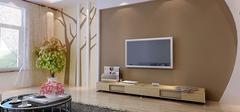 硅藻泥电视背景墙,享受自然之风!