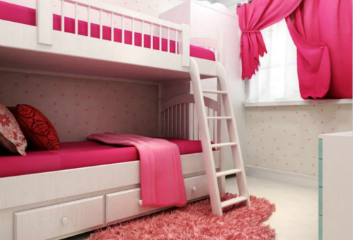 儿童床效果图
