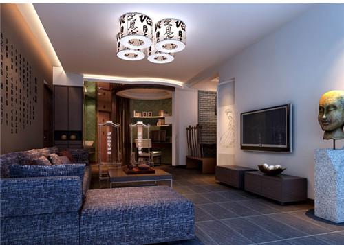 客厅沙发色彩调试之颜色与材质的搭配