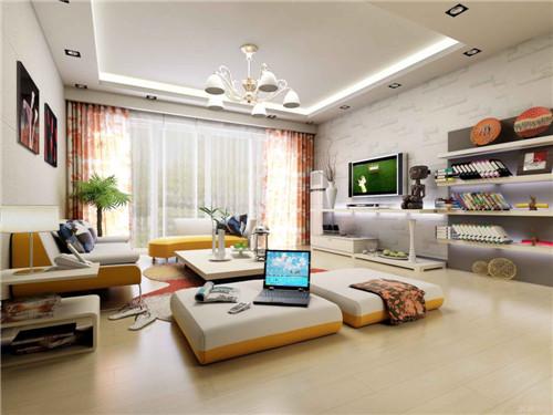 客厅沙发色彩调试之颜色与环境的搭配