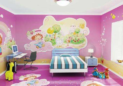 家装壁画效果图