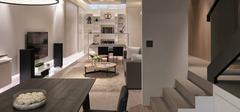 客厅吧台装修效果图,吧台高度与尺寸设计!