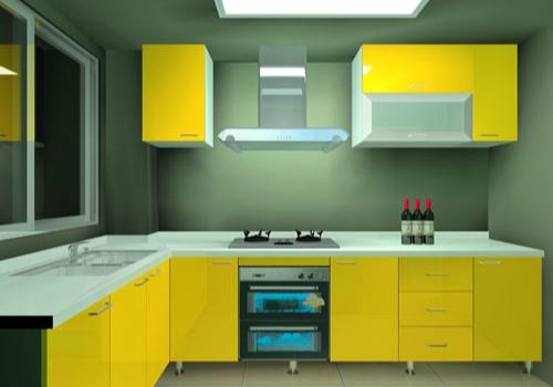 厨房家电效果图