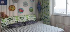 田园风格强袭卧室,回归自然的美!