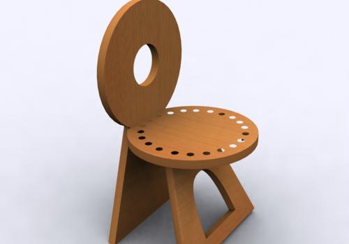儿童椅效果图