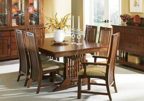 实木餐桌椅效果图