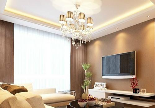 客厅灯具效果图