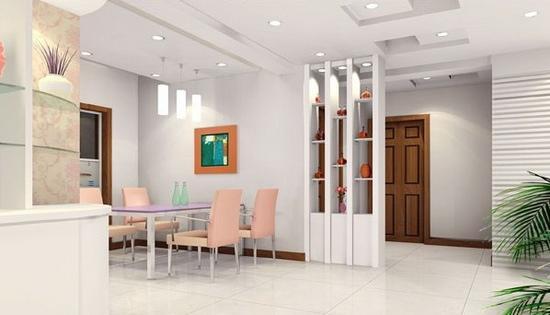 客厅玄关柜设计