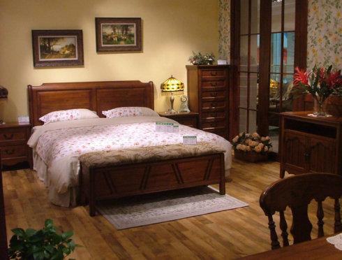 实木床什么材质的好取决于实木床的类型