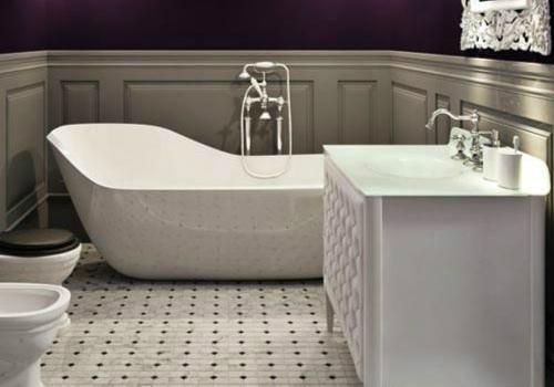 浴缸装饰效果图