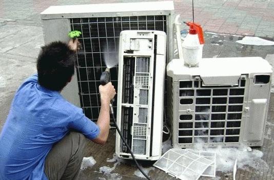 清洗中央空调