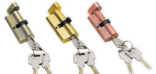 防盗门锁芯之精高的超级锁