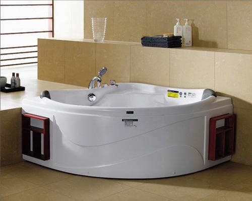 浴缸什么材质好之木质浴缸