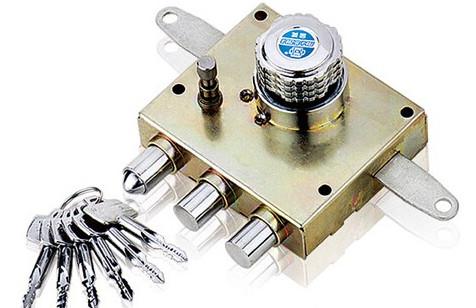 防盗门锁芯中普通的A级锁