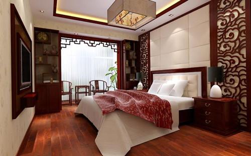 中式卧室色彩