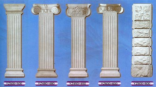 罗马柱模具安全如何控制