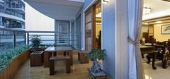 最具潮流的中式阳台搭配布局