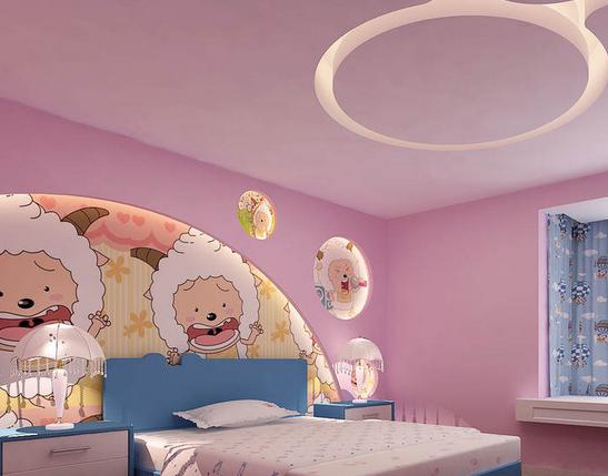 儿童房吊顶设计