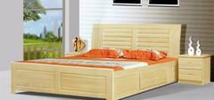 中式实木床,营造卧室的中式韵味