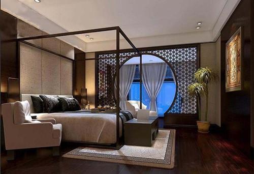 中式卧室布局