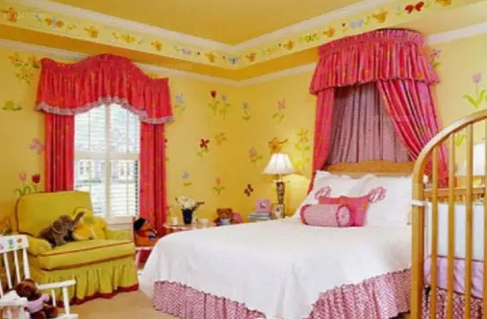 卧室颜色搭配效果图