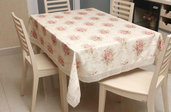 餐桌台布的种类