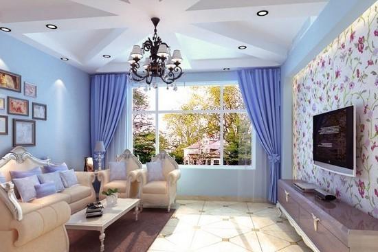 地中海风格的电视背景墙