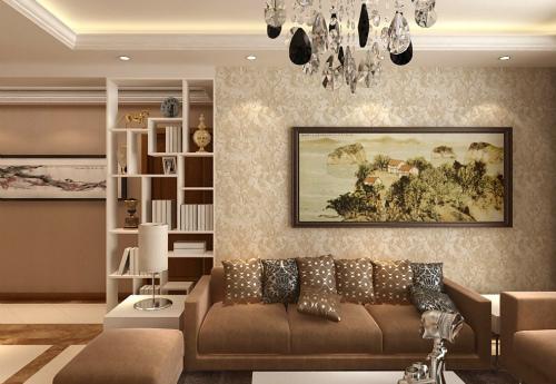 家装墙纸效果图