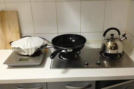 灶具汤汁清洁