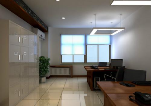 办公室设计效果图